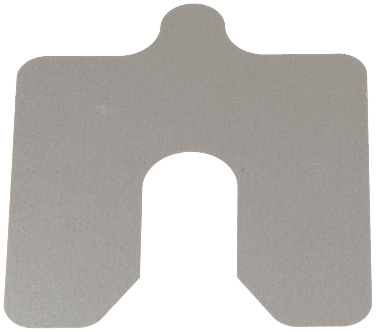 302 Stainless Steel Slotted Shim, #2B Smooth