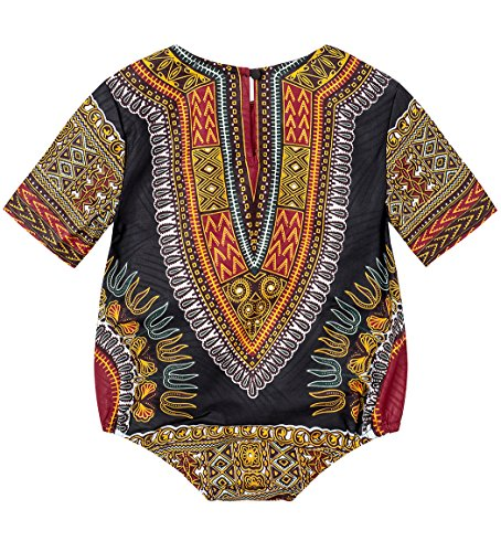 23d164d76fb Jual Shenbolen Kids African Dashiki Print Jumpsuits Piece Pants ...