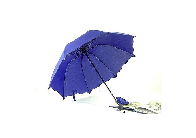 Creative Frill Paraguas de Princesa, Plegable, Guarda Chuva, Azul ...