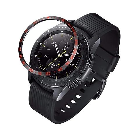Fiaya - Carcasa para Samsung Galaxy Watch de 42 mm o para ...