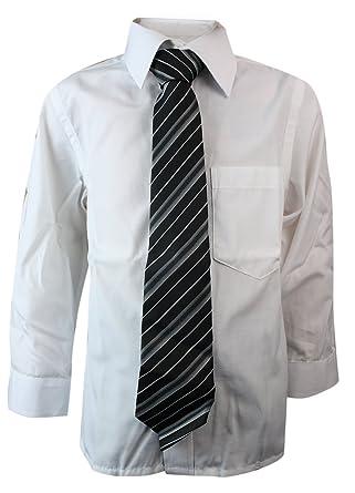 The Gorgeous 1 Niños Niño Camisa con entsprechender Corbata Weiß 1 ...
