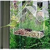 Fenster-Vogelfutterstation von Perspex