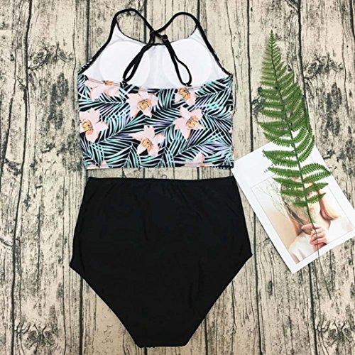 3b8c2f0253c66 Amazon.com: Jiechu Women's Bikini Set Adjustable Spaghetti Strap Two Pieces  Bathing Suit Swimsuit: Clothing