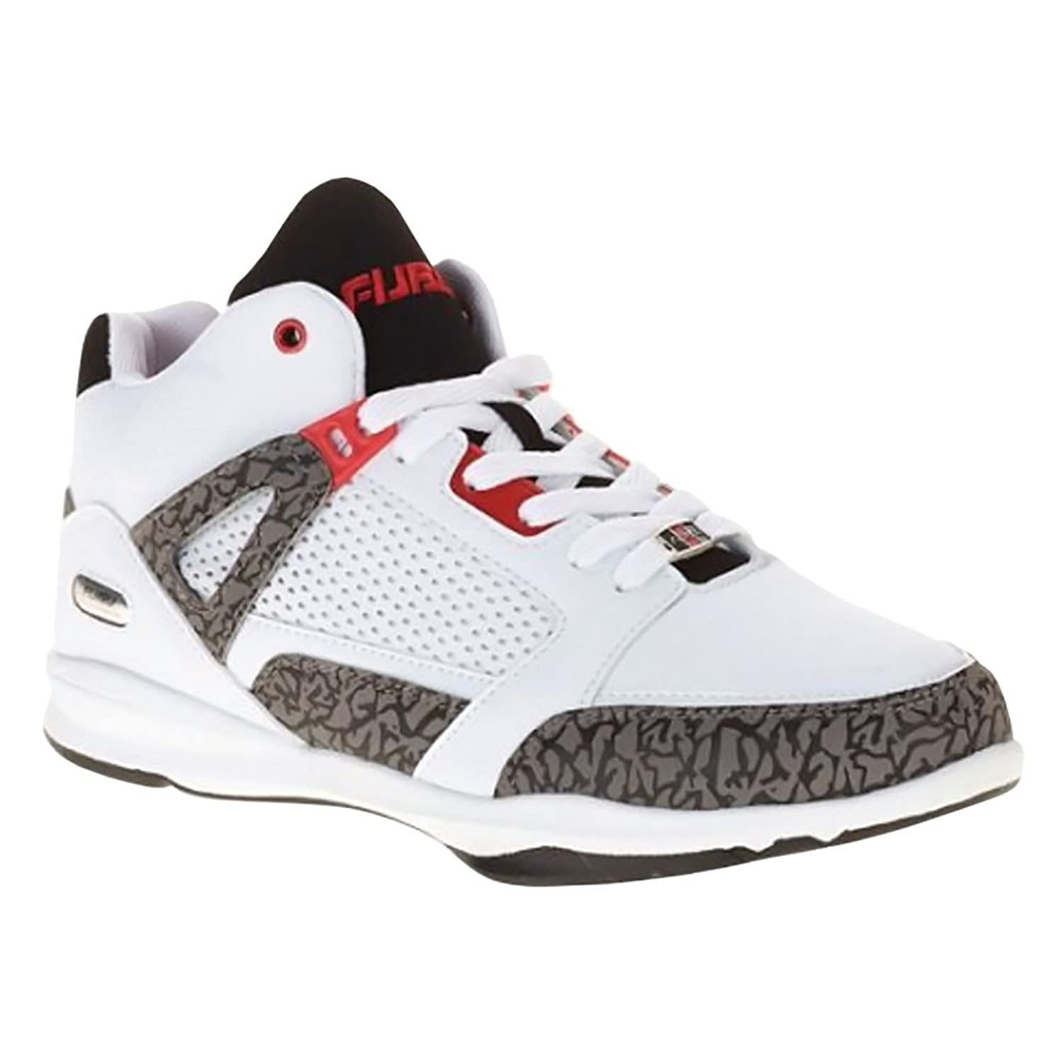 021c300b9350 Fubu Mens Reed Basketball Shoe (White)