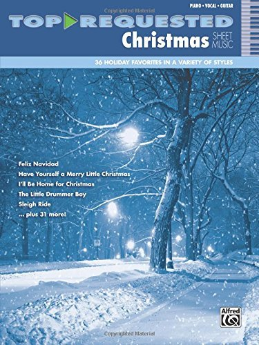 Top-Requested Christmas Sheet Music: Piano/Vocal/Guitar (Top-Requested Sheet Music) ()