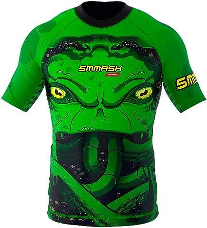 SMMASH Rashguard Octopus Manche Courte MMA BJJ UFC K1