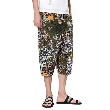 Verano Boho Pantalones Tailandeses Hippie Yoga Harem Pants ...