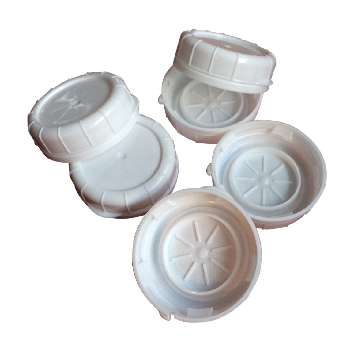 The Dairy Shoppe Replacement Glass Milk Bottle Caps, Fits 48 mm Libbey & Stan-Pac (Pack of 6) Shenandoah Homestead Supply 48mmTEC