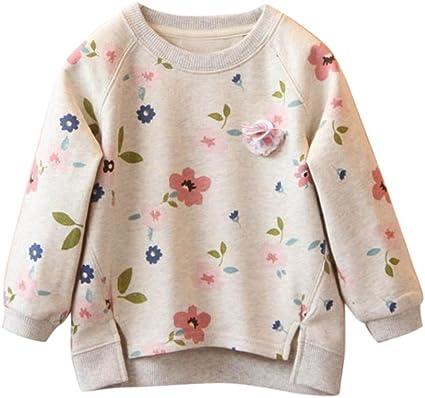 Babykleidung Tops Weinrot, 18M//90CM Honestyi Baby M/ädchen Herbst Winter Solid Lantern /Ärmel Hemd Tops Outfits Kleidung