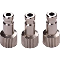 Airbrush Quick Disconnect Coupler Release Fitting 3pcs Male Fitting M5*0.4 Female Compatible with Badger Airbrush