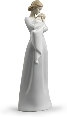 LLADR A Mother s Embrace Figurine. Porcelain Mother Figure.