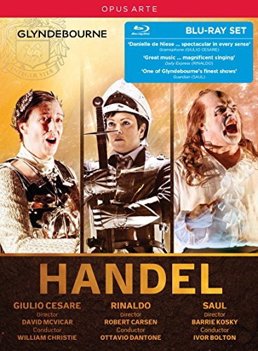 Blu-ray : Handel: Giulio Cesare Rinaldo Saul (Boxed Set, 4PC)
