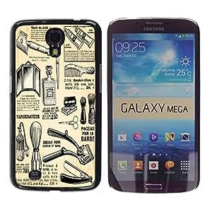 Dragon Case - FOR Samsung Galaxy Mega 6.3 - you are the only one - Caja protectora de pl??stico duro de la cubierta Dise?¡Ào Slim Fit
