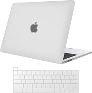 ProCase MacBook Pro 16 Case A2141 2019 Release with Keyboard Cover, Ultra Slim Protective Hard Case Shell Cover & Keyboard Skin for New MacBook Pro 16 Inch with Touch Bar and Touch ID –Clear