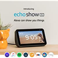 Amazon Echo Show 5 in Charcoal + $15 Kohls Cash