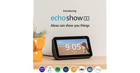 Amazon Echo Show 5 in Charcoal only $64.99