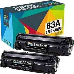 Do it Wiser Compatible Toner Cartridge Replacement for HP 83A HP Laserjet Pro M201dw M201n MFP M127fn M127fw M225dw M225dn (2,500 Pages) 2 Pack