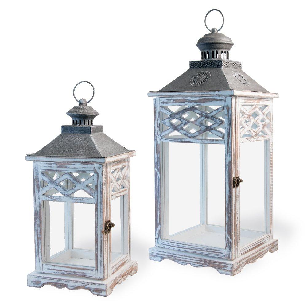 Boston International Decorative Lanterns, Set of 2, Garden Gazebo