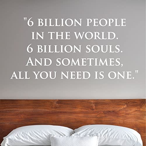 6 Billion People In The World 6 Billion Souls And Sometimes All You Need