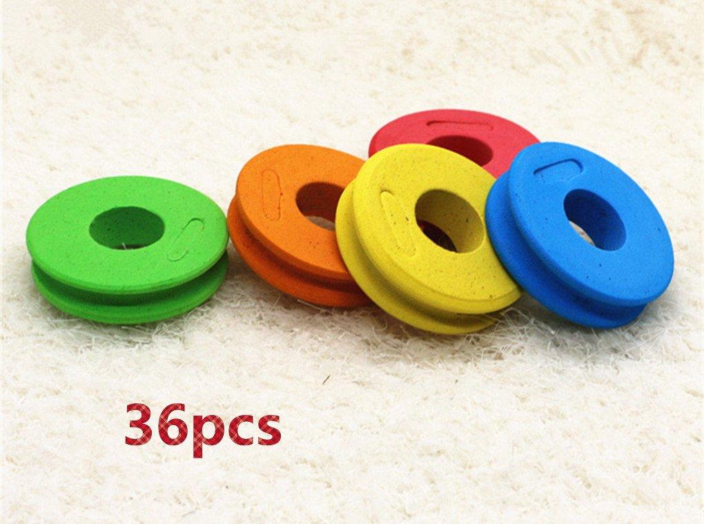【超特価sale開催】 Toasis釣りラインストレージ釣りスネル引出線リグFoamスプールパックof 36 B07CNXMF28 Multicolors 36/Large Multicolors/Large B07CNXMF28, Pen Grounds mitadepa:541a9c81 --- a0267596.xsph.ru