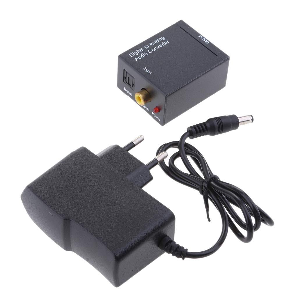 Repuestos para Audio Dom/éstico y Profesional IPOTCH Conversor de Audio Salida Est/éreo Sonido Claro Juego de Adaptadores con Cargador de UE