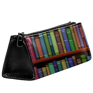 EZIOLY Estantes de biblioteca con libros antiguos, bolsa de ...