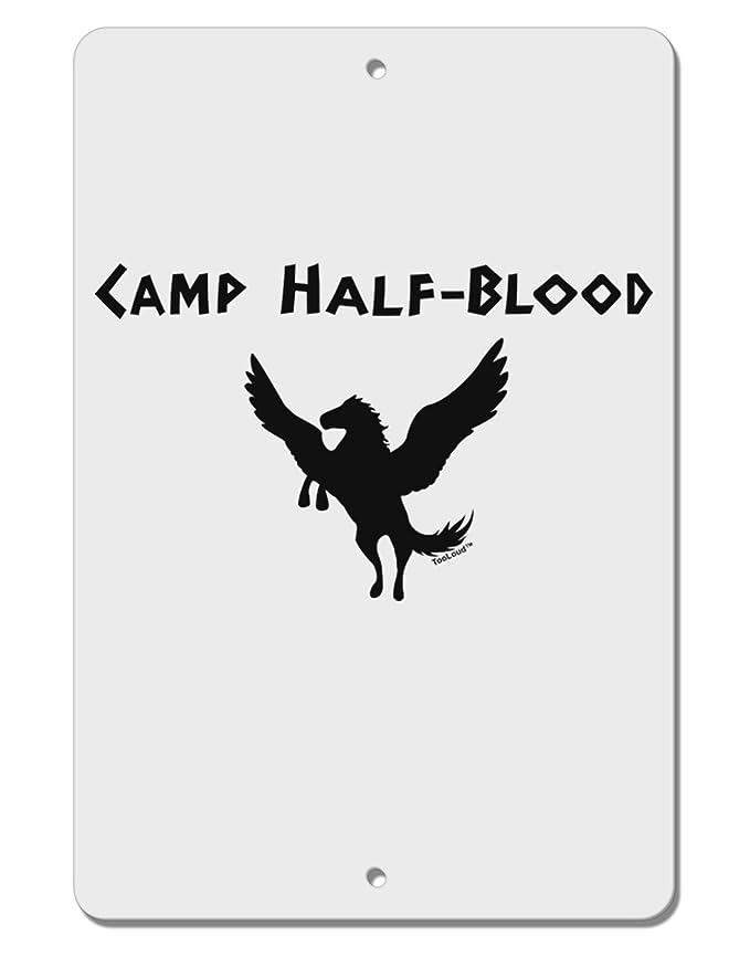 Amazon Tooloud Pegasus Camp Half Blood Aluminum 8 X 12 Sign