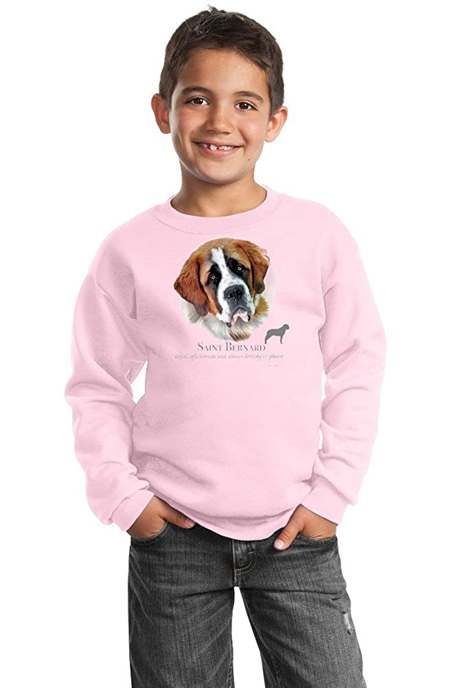 Saint Bernard Youth Sweatshirt by Howard Robinson