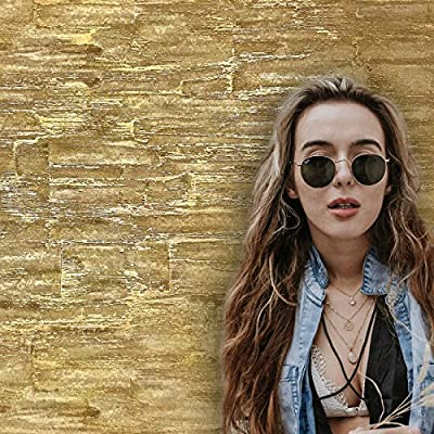 paste wall only Premium plain Embossed European Slavyanski modern wallcoverings rolls faux stone imitation pattern Vinyl Non-Woven Wallpaper gold metallic textured textures 3D washable wall glitters