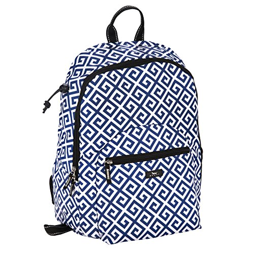 SCOUT Big Draw Backpack School Bag, Interior Laptop Sleeve, Padded & Adjustable Straps, Water Resistant, Zips Closed, Bid Day Blue