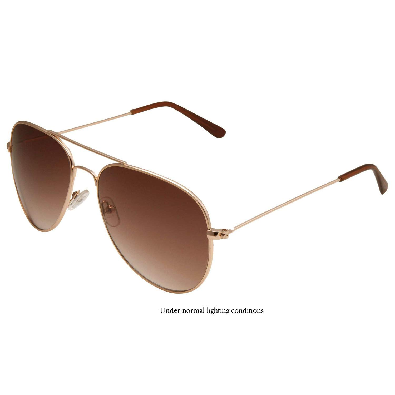 Amazon.com: SWG Eyewear metal Classic Aviator anteojos de ...
