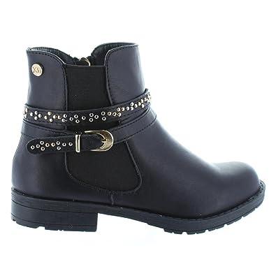 XTI - Botines de Mujer y Niña 53806 C NEGRO: Amazon.es: Zapatos y complementos