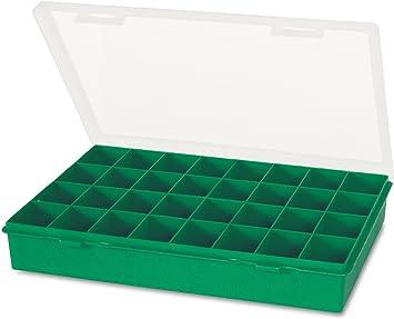 Tayg - Estuche nº 13-32, verde, transparente, de plástico: Amazon.es: Bricolaje y herramientas