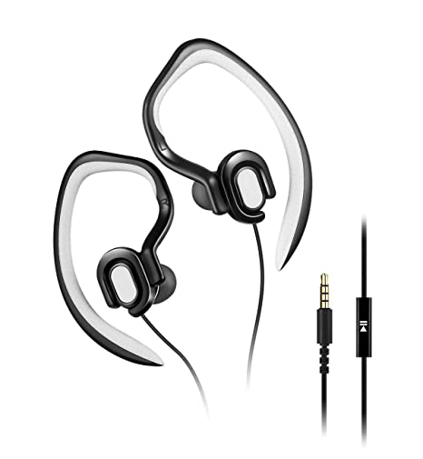 MUCRO Cablata Cuffie Auricolare In-Ear Stereo Sports Noise Cancelling Auricolari  Sportive headphone per Running 8f5967aea0bb