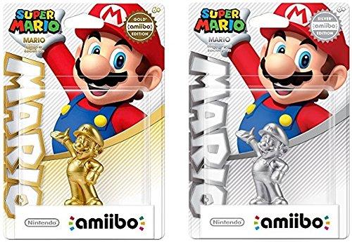 Mario Silver amiibo + Mario Gold amiibo (USA Edition) by Nintendo (Image #5)