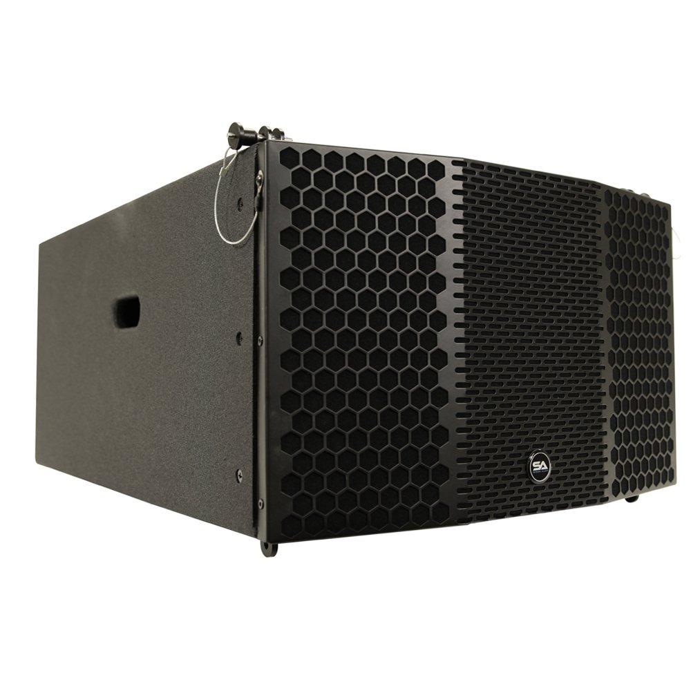 Seismic Audio CLA-310 Compact 3 x 10 Line Array Subwoofer PA/DJ Band Live Sound Line Arrays by Seismic Audio