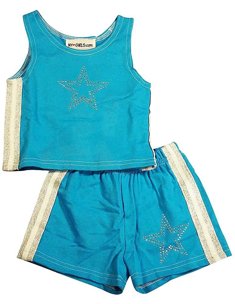 NY Girls.com - Little Girls 2 Piece Short Set