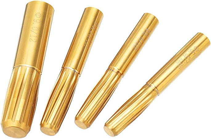 ExcLent 12 Flutes 5.5Mm-9.0Mm Rifling Button Hard Alloy Chamber Helical Machine Reamer Tool 5,5 mm