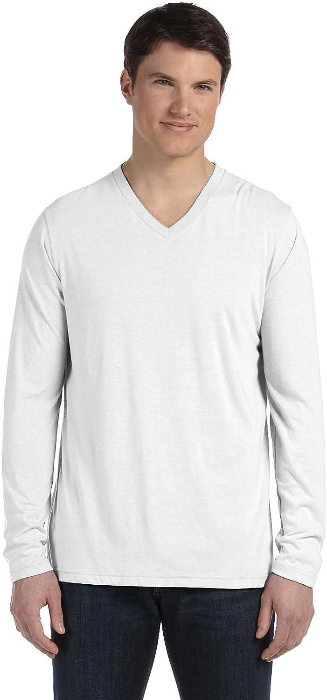 Bella Canvas 3425 - Long Sleeve V-Neck T-Shirt