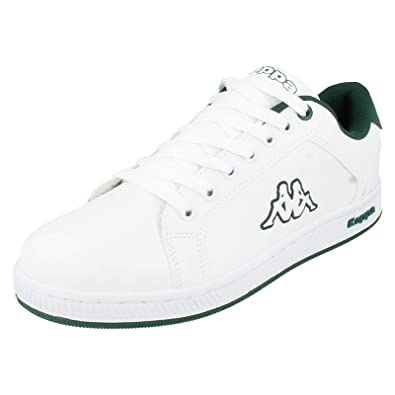 285b9c4318 Kappa Mens Trainers Maresas Tennis Lace White/Green Size 10: Amazon ...