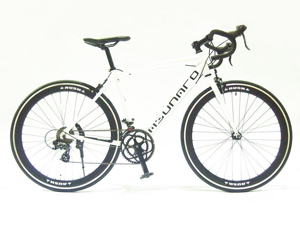 ASUNAROアスナロ 自転車 AN-7014ALD-H Abura(アビューラ) ロードバイク 700×23c B073QP6W2Vマットホワイト
