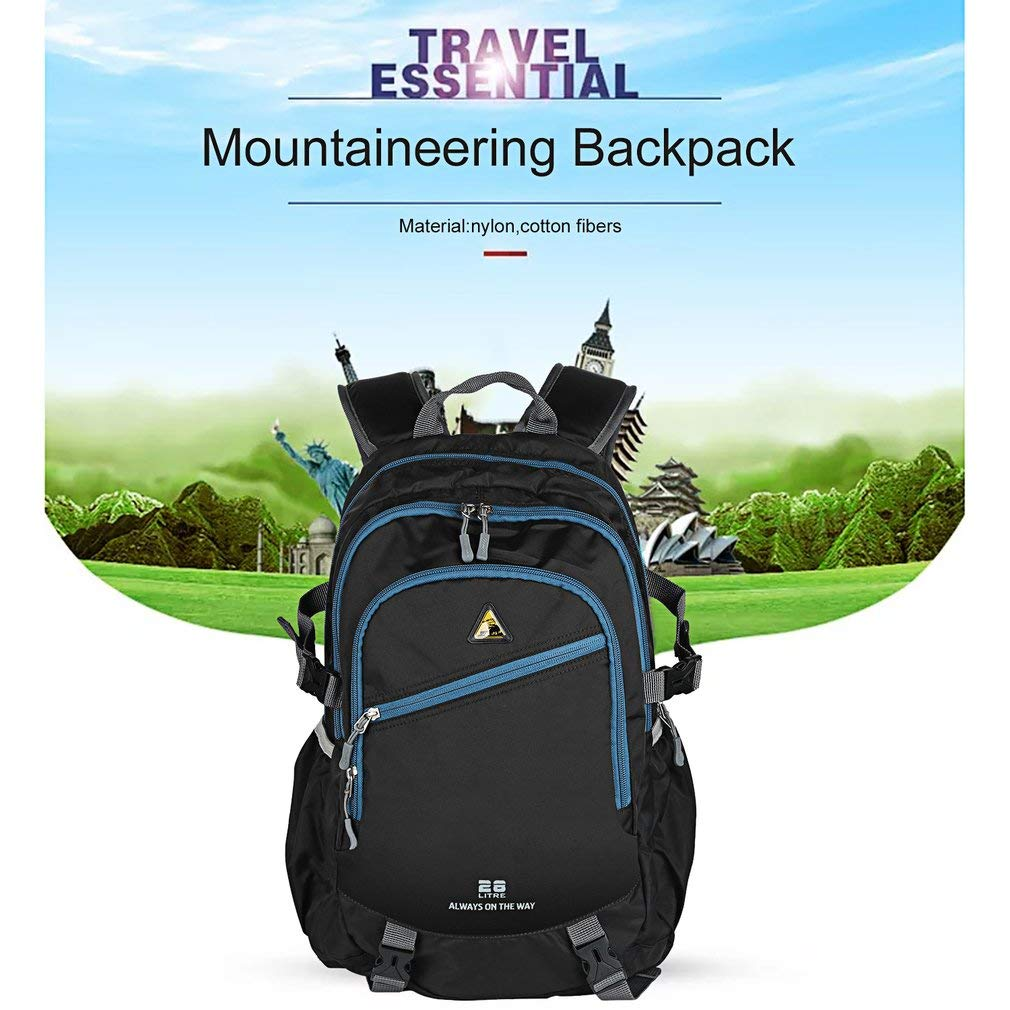 YTYC Outdoor Waterproof Mountaineering Backpack Multifunctional Travelling Bag