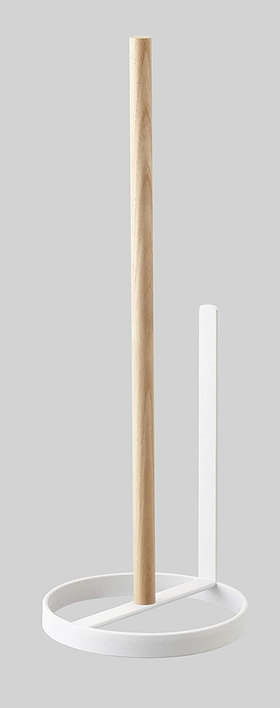 YAMAZAKI home Toilet Paper Stand – Bathroom Organizer Storage Holder, White