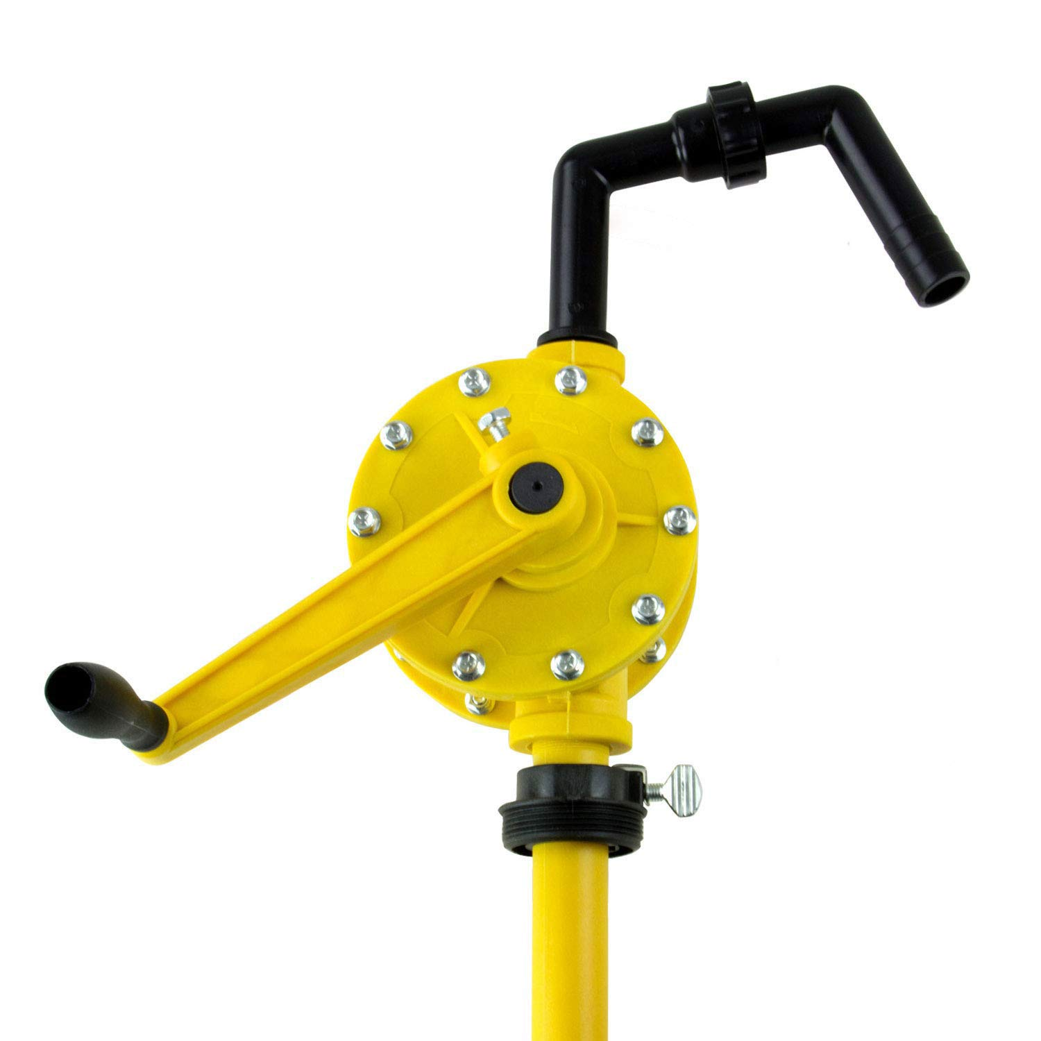 TRRP90P Plastic Rotary Drum Barrel Pump for water based solutions and all petroleum products