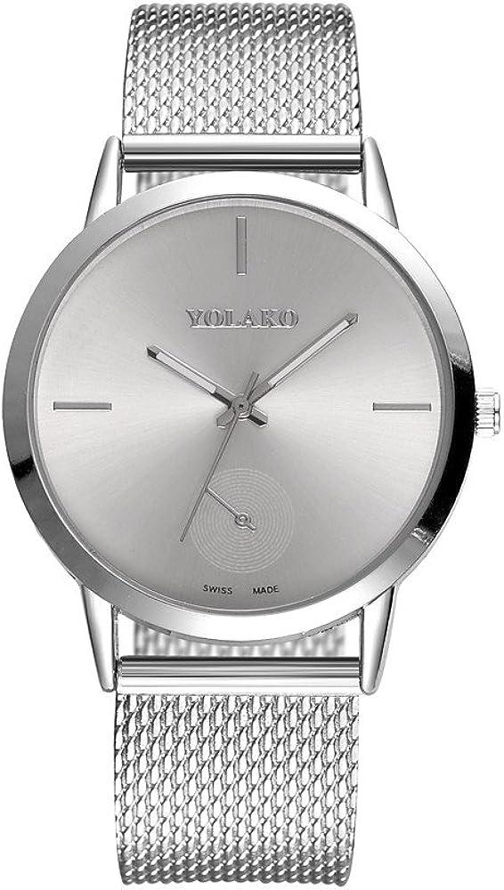 DAYLIN Relojes de Hombre Mujer Deportivo de Vestir Reloj de