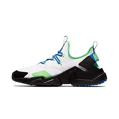 pretty nice 40803 f3c84 Nike Air Huarache Drift Men s Shoes White Black Blue Nebula ah7334-102 (