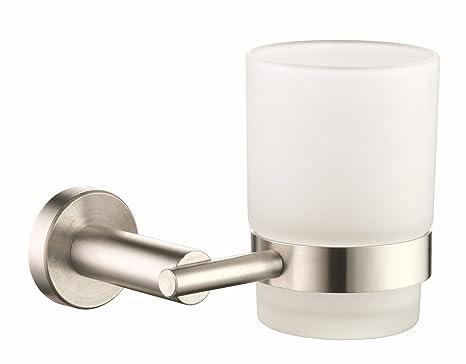 Premier Housewares - Toallero de los artículos de baño simples portavasos accesorios portavasos š € dientes portavasos de baño 231701SP: Amazon.es: Hogar