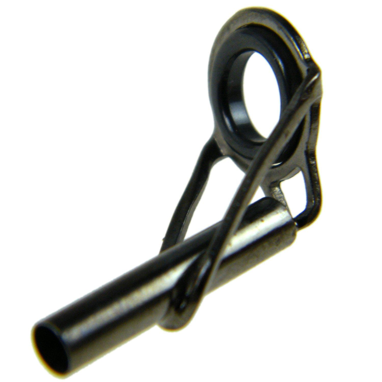 En acier avec bague en c/éramique Lot de 7 anneaux guides de remplacement Qualyqualy pour canne /à lancer Kit de r/éparation