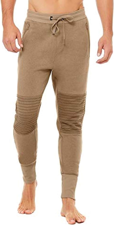 Alo Yoga Lounge Moto Jogger - Pantalones de chándal para Hombre ...
