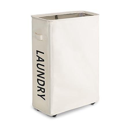 Amazoncom Wishpool 22 Slim Dirty Clothes Hamper For Laundry
